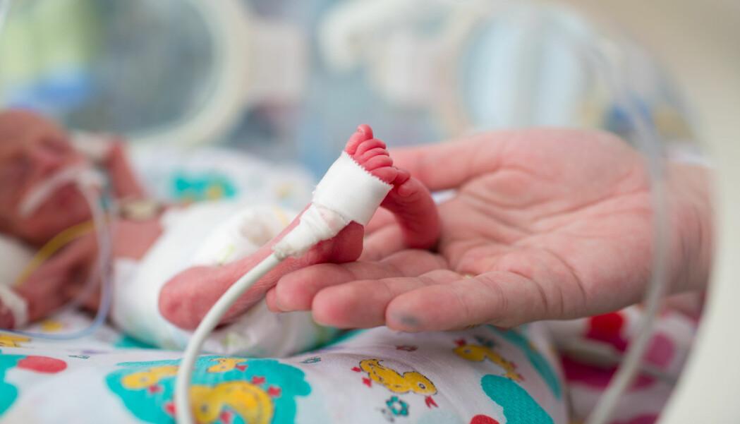 Pustemaskiner er blant det som lager for høy lyd for kuvøsebarna.