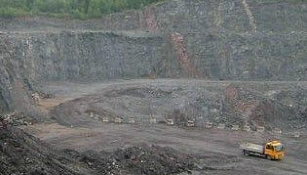 Driften i Huken pukkverk i Oslo er foreløpig stanset. Peer-Richard Neeb