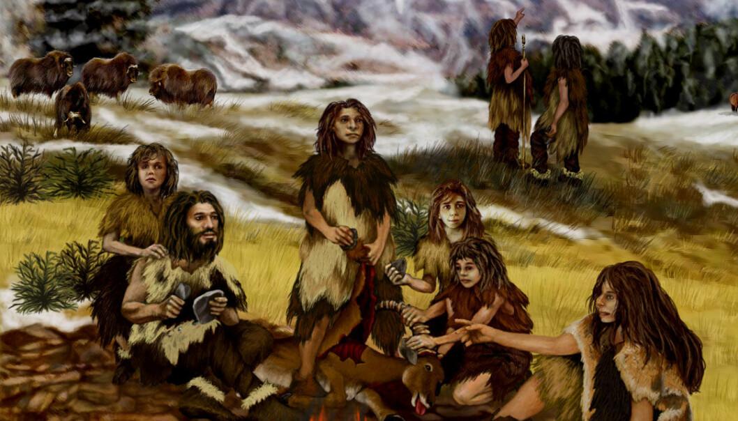 "(Illustrasjon: <a href=""http://marsprogram.jpl.nasa.gov/gallery/artwork/neanderthals.html"">NASA</a>)"