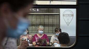 Russisk massevaksinasjon mot koronaviruset i oktober, ifølge helseministeren