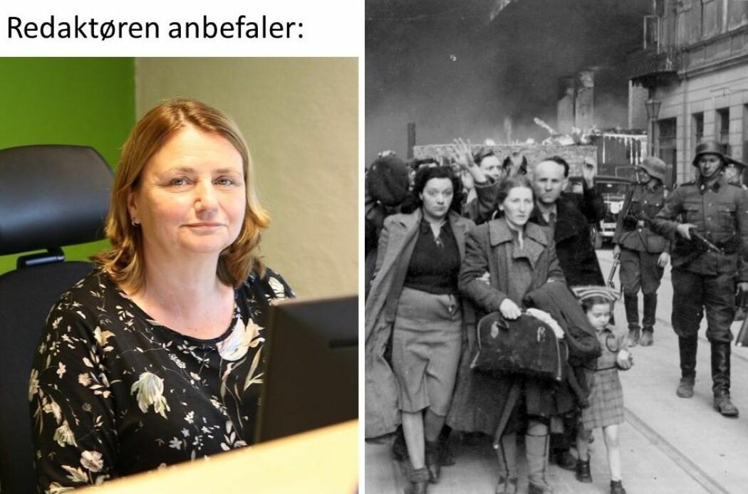 Nina Kristiansen, redaktør i forskning.no og polske jøder tatt til fange av tyskere i Warzawa under andre verdenskrig.