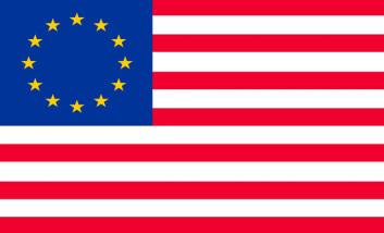 EU kan bare overleve den nåværende gjeldskrisen hvis medlemslandene blir knyttet tettere sammen økonomisk, slik at de rike statene sørger for de fattige, akkurat som Amerikas forente stater. (Foto: Colourbox)