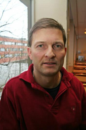 Biolog Iver Mysterud ved UiO. (Foto: Asle Rønning)