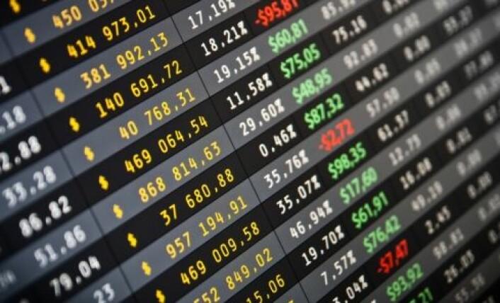 Børsenes handelssystemer krever rask reaksjon. (Foto: Shutterstock)