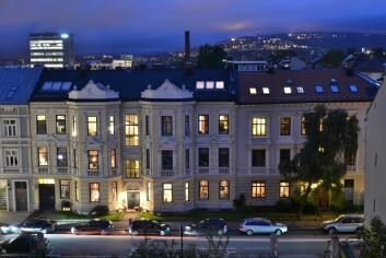 I Oslo, her fra Majorstuen, er leiemarkedet dominert av private som kjøper seg en ekstra bolig, får skattefordel av det, og så leier den ut for fortjeneste. Det gir en helt annen dynamikk, og et annet prisnivå, enn i mer regulerte Stockholm og København. (Foto: Colourbox)