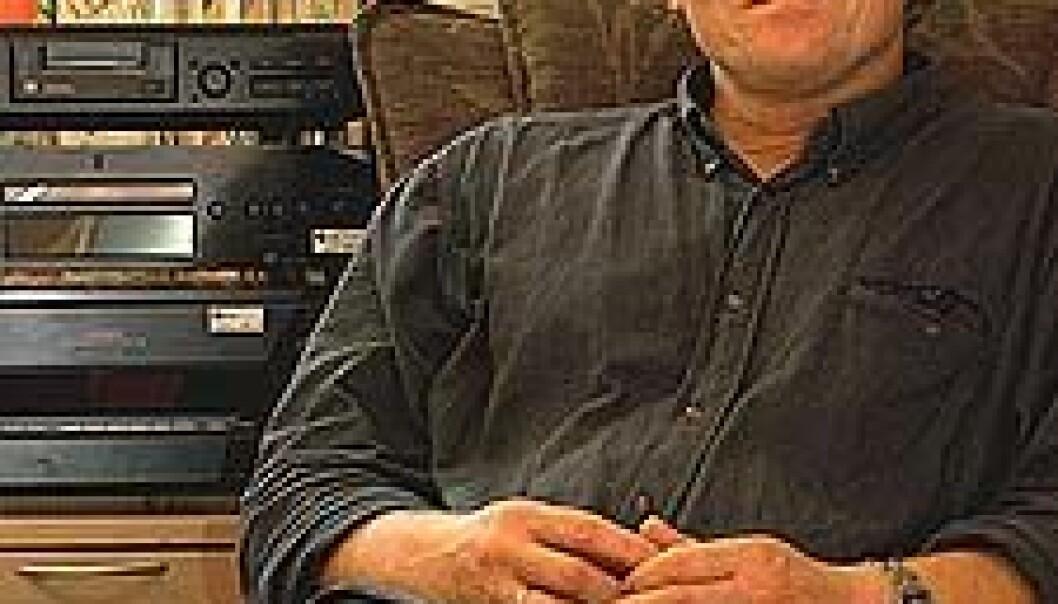 """""""- Et viktig moment ved musikkterapi er at den kan ha en tett kobling til folks hverdagsliv, sier forskningsdirektør ved GAMUT, Brynjulf Stige. Han har stor tro på bruk av musikkterapi i fengselet. (Foto: Silje Gripsrud)"""""""