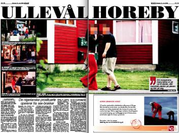 Faksimile av VG 12.juni 2006.