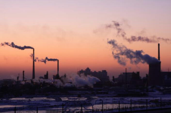 Kina slipper ut mindre svoveldioksid (SO2) og bidrar til at de globale utslippene går ned. (Foto: iStockphoto)