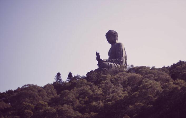 Buddhisme var den religionen som flest blant de ambivalente forskerne kom godt ut av det med. (Illustrasjonsfoto: www.colourbox.no)