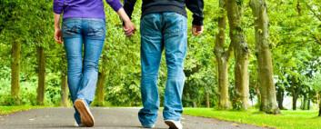 Trygd smitter blant venner som mottar trygd. (Foto: Shutterstock)