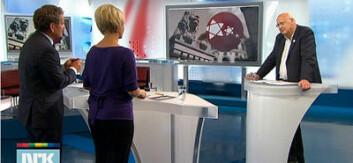 Audun Beyer har sammenliknet NRK og TV 2s politiske nyhetsdekning i forkant, under og rett etter stortingsvalget i 2009. Her fra NRKs valgdekning. (Foto: NRK)
