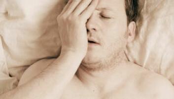 30 prosent av oss sliter med søvn i perioder. iStockphoto