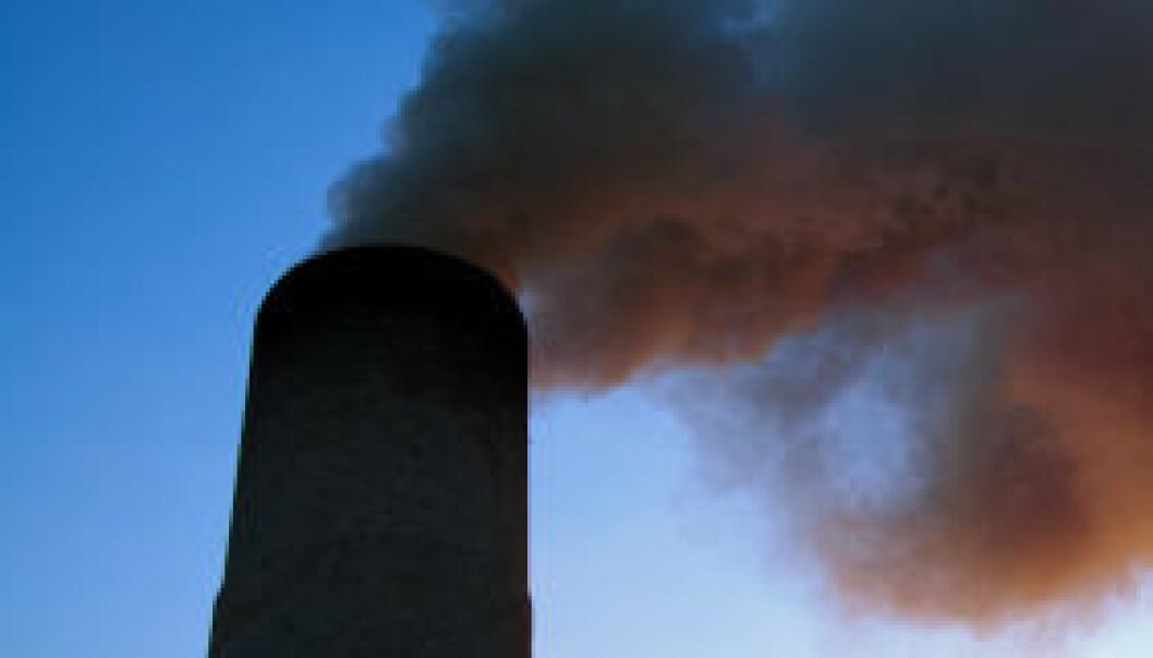 Verdens utslipp av SO2 går ned. iStockphoto
