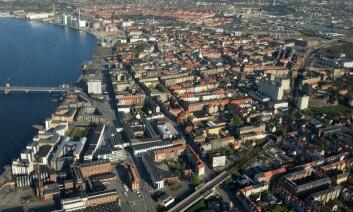 I Danmark er det en stor offentlig utleiesektor, og det private markedets priser er koblet opp mot det offentlige. Det hindrer at prisene stiger inn i himmelen i for eksempel storbyer som Aalborg. (Foto: Colourbox)