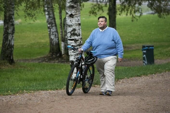Jørgen Foss, leiar i Landsforeningen for overvektige, etterlyser fleire tiltak frå samfunnet. Fedme er ikkje berre eit individuelt problem, meiner han. (Foto: Scanpix Jan Petter Lynau)