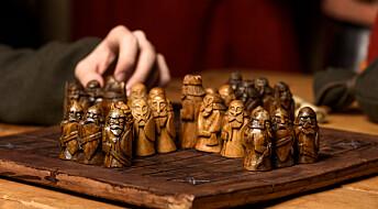 Vikingene spilte asymmetrisk sjakk
