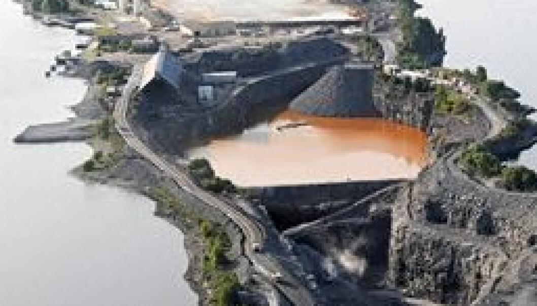 Norges største anlegg for avfallsbehandling forurenser lite