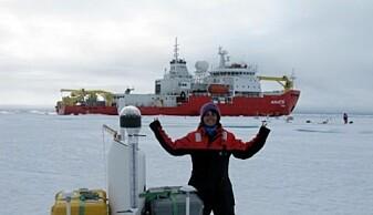 Zoe Koenig – her frå ein ekspedisjon i det kanadiske Arktis i 2015.
