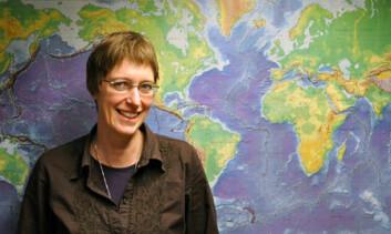 NGU-forsker Susanne Buiter. Foto: Gudmund Løvø