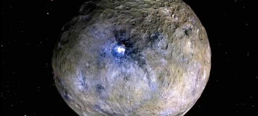 Hva gjemmer seg under overflaten på dvergplaneten Ceres?