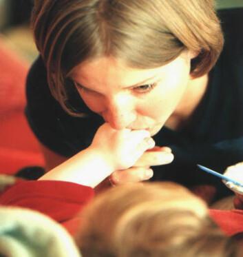 """""""Barn trenger trøst oppmerksomhet. (Illustrasjonsfoto: www.colorbox.no)"""""""