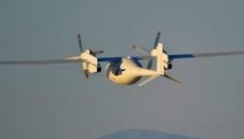 «Phantom Eye» er drevet av flytende hydrogen, noe som gjør at den kun slipper ut vann som avfallsstoff. Boeing