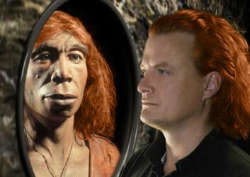 """""""Hadde neandertalerne røde lokker?(Foto: Michael Hofreiter and Kurt Fiusterweier/MPG EVA)"""""""