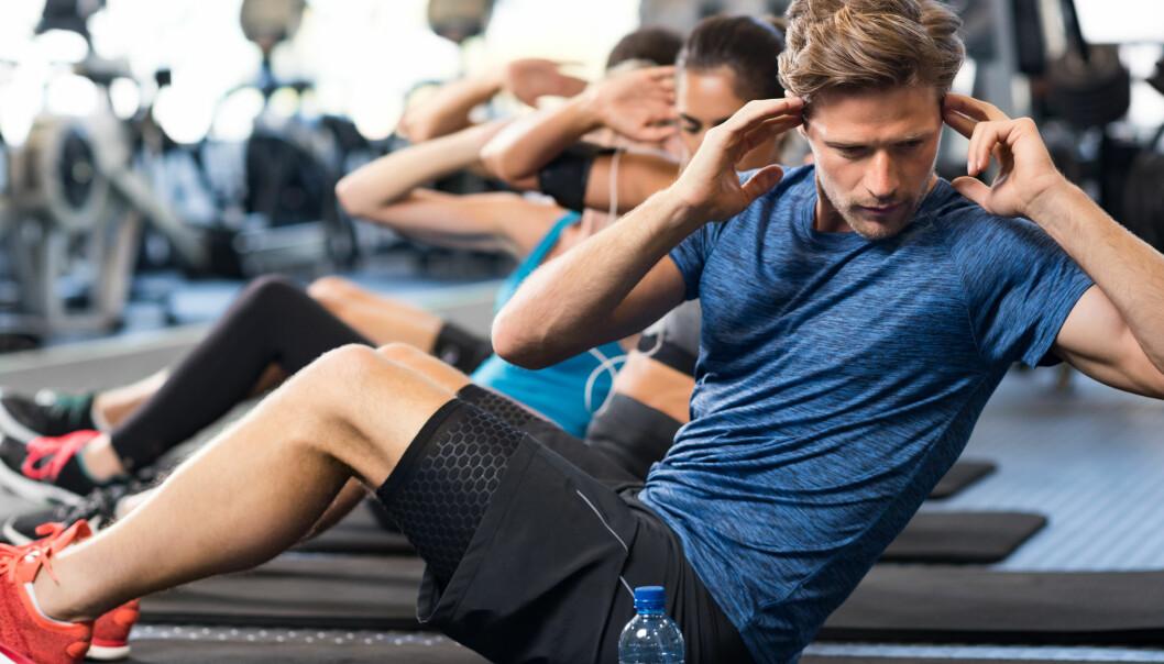NHH-studien viser at cirka halvparten av effekten ble værende etter at gratistilbudet på trening ble avviklet.