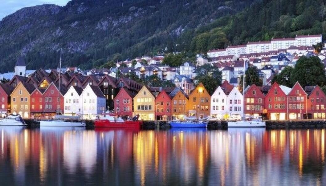 Bergen er blant de store byene som forskerne mener overta de fylkeskommunale oppgavene. ThinkStock