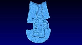 Valkyrje fra vikingtiden gjenskapt i 3D