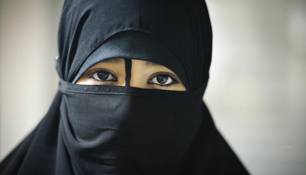 IS-sympatisørene mener kvinner bør dekke seg til og støtter bruk av plagget nikab. Nikab er også i bruk blant langt flere enn disse.