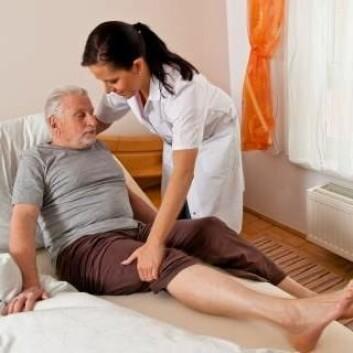 Den individuelle omsorgen blir lett taperen når helsesktoren mangler ressurser. (Illustrasjonsfoto: www.colourbox.no)