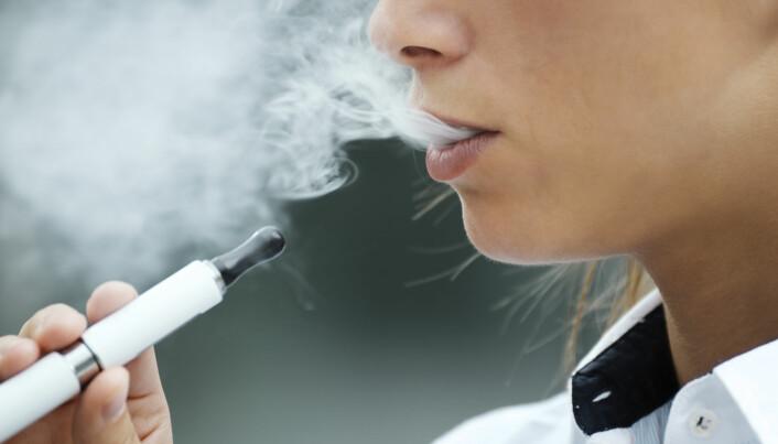 Hjerteforskere slår alarm om e-sigaretter