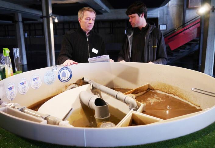 God risikovurdering av rensesystemene til avløpsanlegg er viktig for å forhindre at smittestoffer kommer seg inn i vannforsyningen. (Foto: Kathrine Torday Gulden)