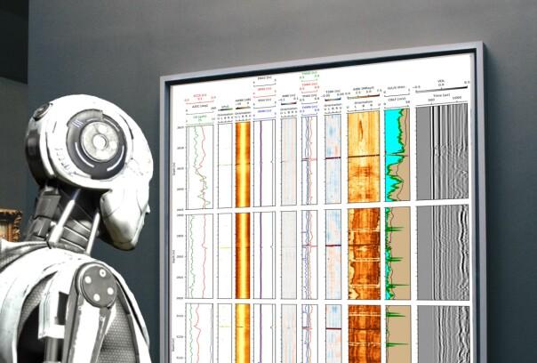 La datamaskina sjekke oljebrønnen!