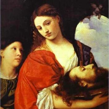 Salome med Johannes' hode. Maleri av Tizian fra rundt 1515. (Foto: (Illustrasjon: Wikimedia Commons))