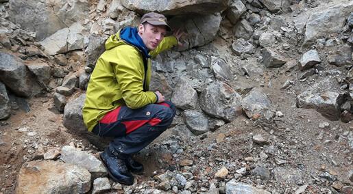 Gammelt fjellskred har gitt bygda enorme mengder radon