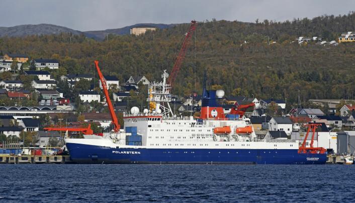 I september i fjor lå den tyske isbryteren og forskningsskipet Polarstern til kai i Tromsø. Elleve måneder senere har skipet nådd Nordpolen, men først i oktober vil ekspedisjonen endelig være over.