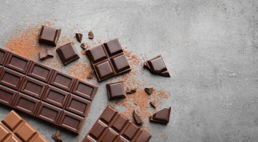 Forskere vil gjøre melkesjokoladen like sunn som mørk sjokolade