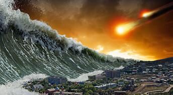 Da en flere hundre meter høy tsunami traff Finnmark