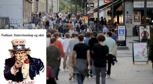 Svikter det norske sivilsamfunnet under vekten av covid-19?