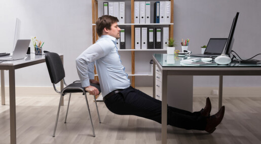 Tips fra forskere: Slik blir trening en del av arbeidsdagen