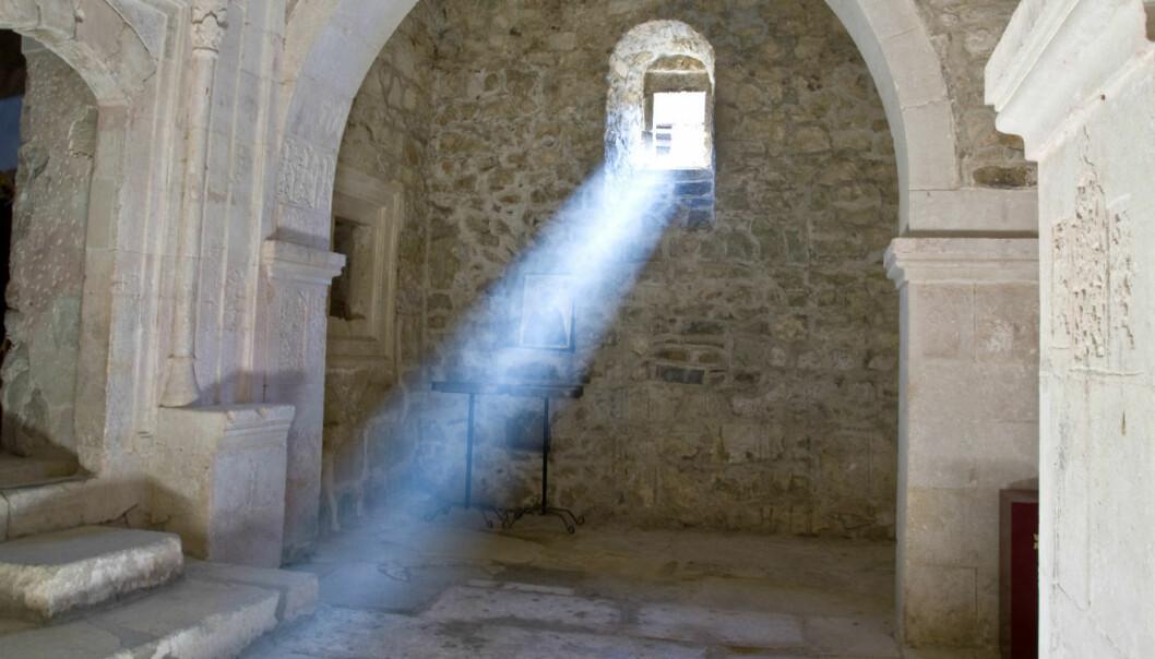 Vil lage materie av lys