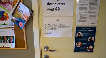 Ikke grunnlag for å korona-stenge barnehagene, mener svensk forsker