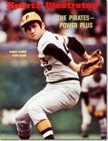 Steve Blass var stjernespiller på Pittsburg Pirates. (Faksimile: Sports Illustrated, 3.juli 1972. Foto: Neil Leifer)