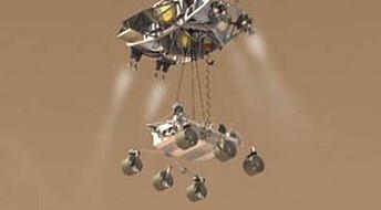 Gjør klar for spektakulær Mars-landing