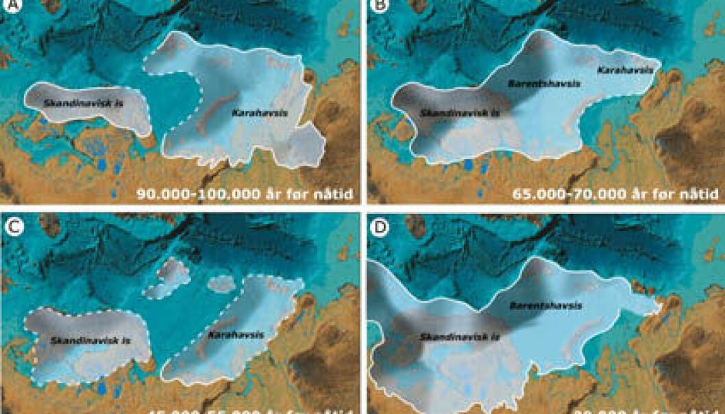 Store klimaendringer i siste istid