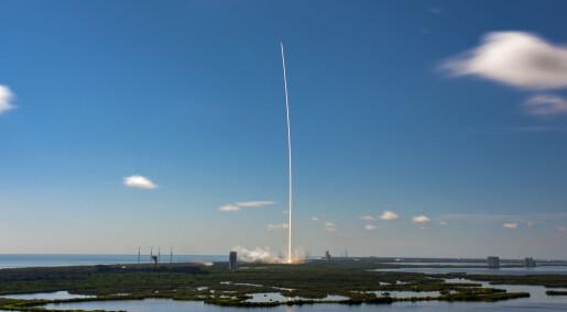 SpaceX bruker resirkulert rakett til å sende opp satellitter til sitt globale internett-prosjekt
