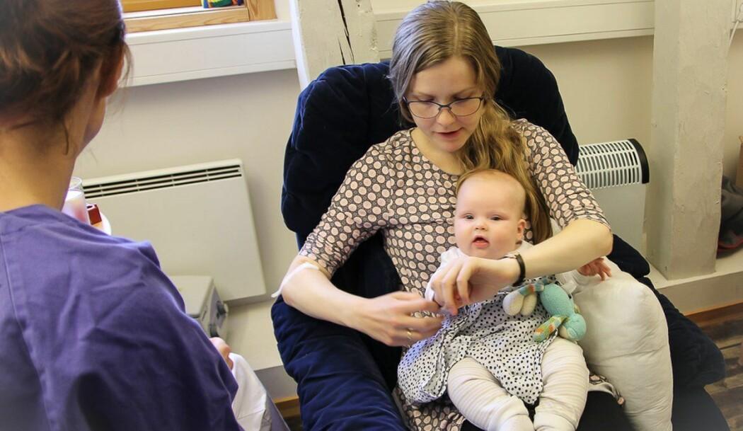 I studien ble det tatt blodprøver av både mor og barn, i tillegg til prøver av morsmelk.