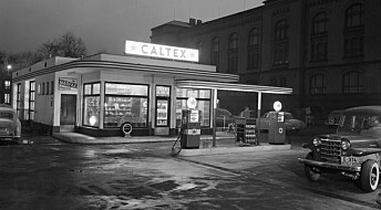De første bensinstasjonene våre så ut som greske templer